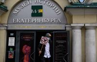 Антиголубь Константин Лескин за работой