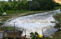 Вид на реку Кума у дамбы Отказненского водохранилища