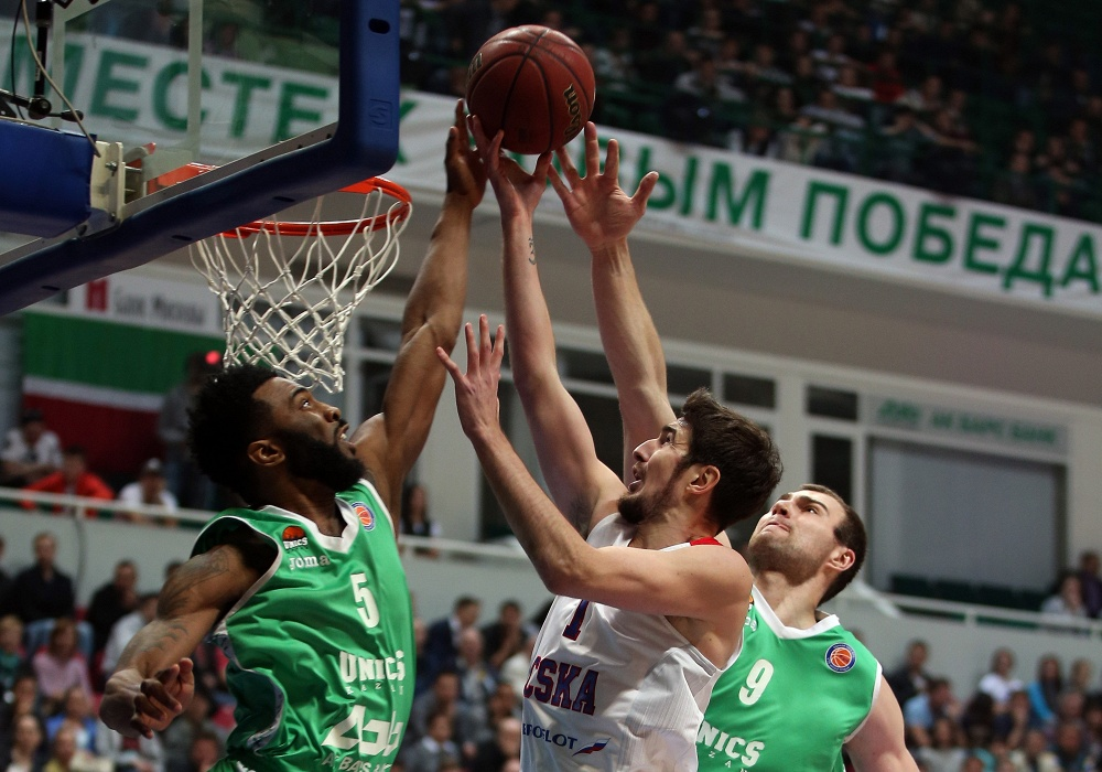 Брянский баскетболист Фридзон в 3-й раз стал чемпионом РФ