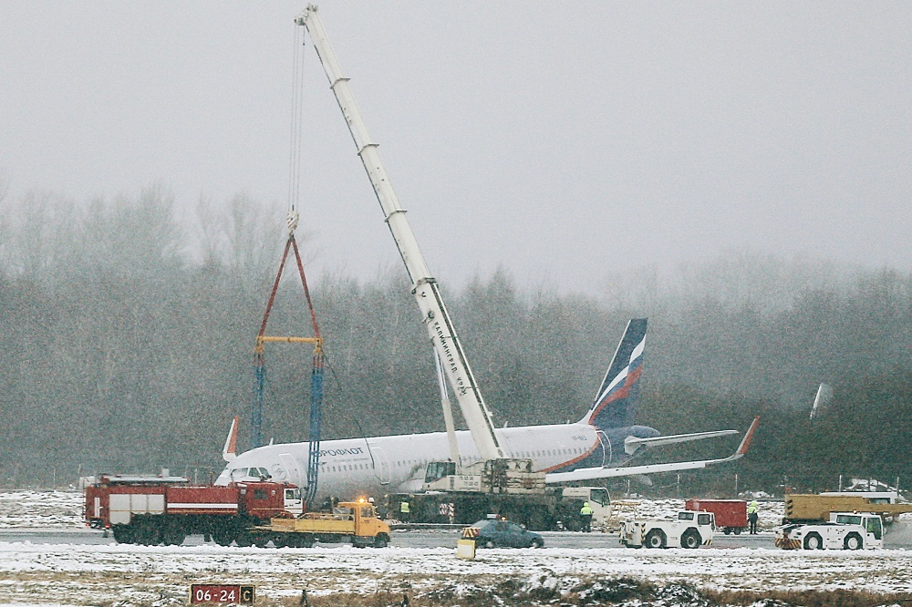 Аэропорт «Храброво» закрыт из-заЧП ссамолётом