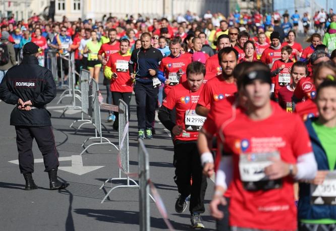 Московский марафон прошел вцентре столицы