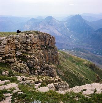 Вид на Хунзахское плато