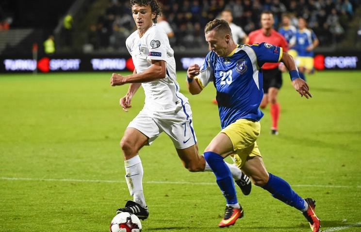 Сборная Косово сыграла свой 1-ый официальный матч