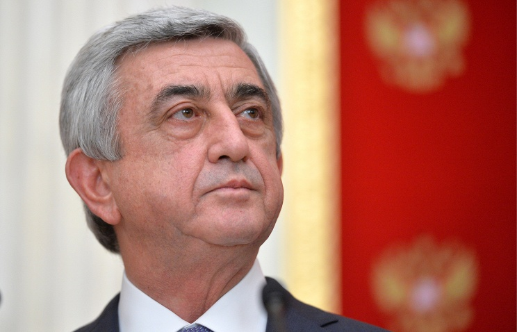 Путин поздравил президента Армении с25-летием независимости республики