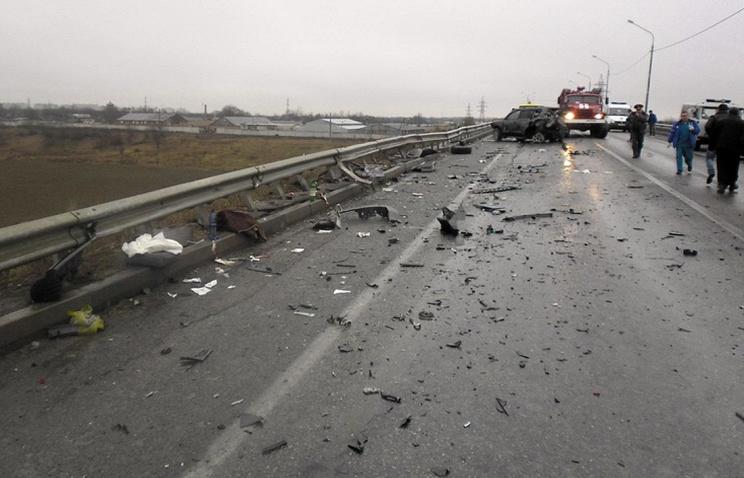 Три человека погибли встолкновении иномарок назаснеженной дороге вЧелябинской области