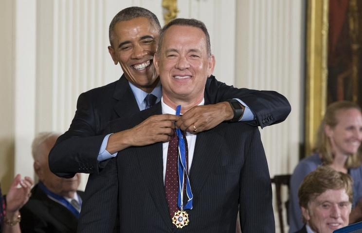Барак Обама впоследний раз вручил президентские Медали Свободы