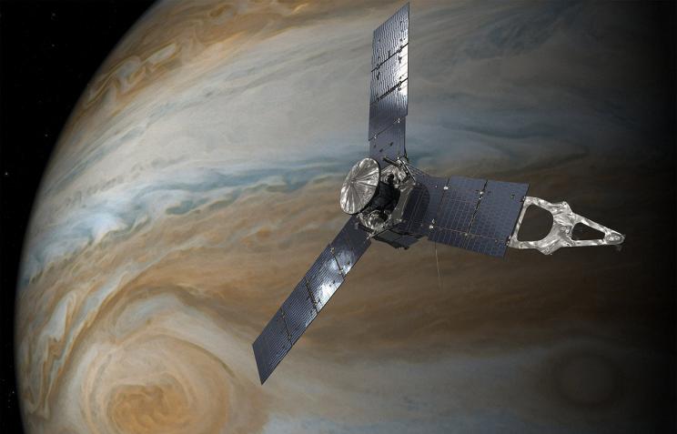 Сегодня зонд Juno снова сблизился сЮпитером