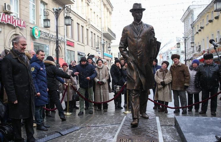 В столице ввоскресенье откроют монумент композитору Прокофьеву