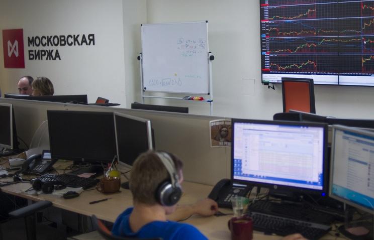 Приостановлены торги нафондовом рынке Московской биржи