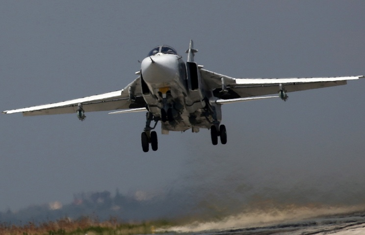 ВВС РФ иТурции уничтожили три пункта управленияИГ вСирии