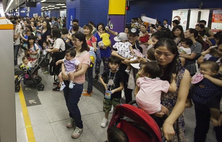 Население Китая увеличится до1,42 млрд человек к2020 году