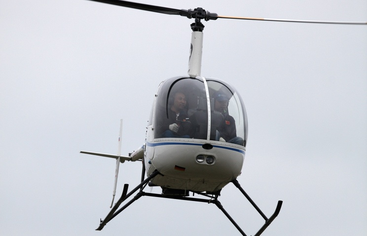 В РФ потерпел крушение вертолет, ведутся поисковые работы