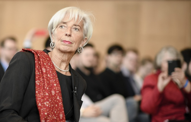 МВФ поднял  прогноз финансового  роста РФ