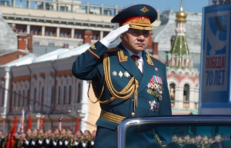 Шойгу рассказал обучастии новой техники впараде наКрасной площади