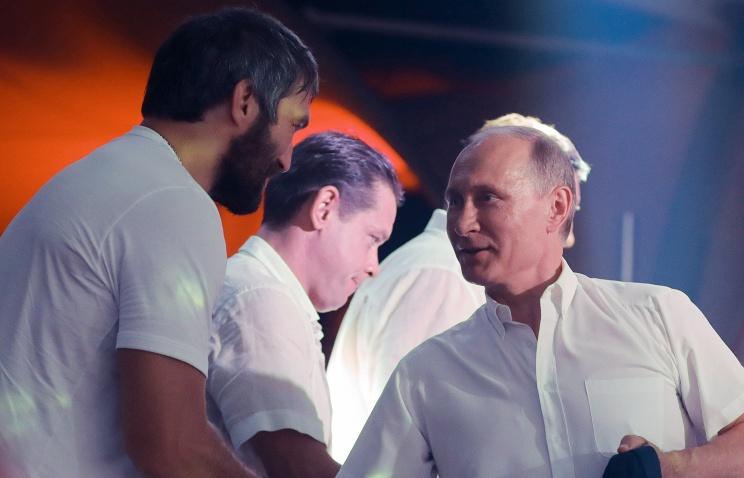Александр Овечкин объявил осоздании социального  движения под названием Putin Team