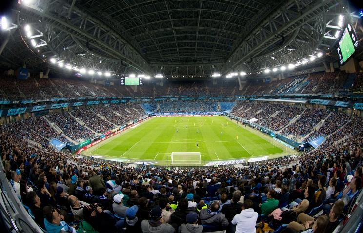 Санкт-Петербургу достались матчи группы BнаЕвро