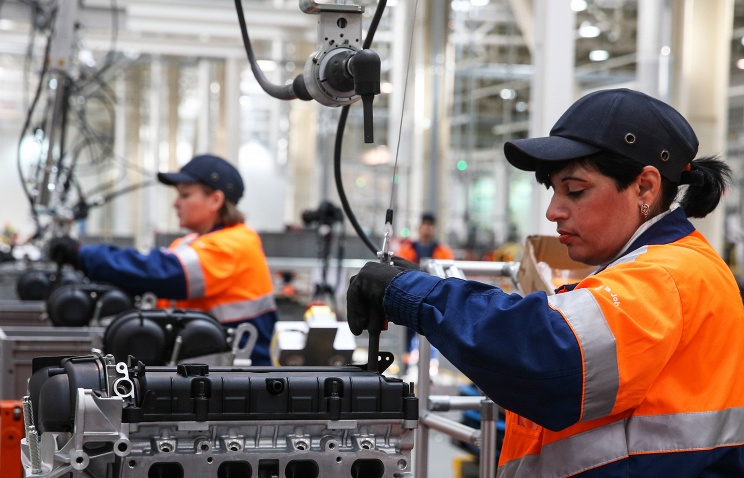 Ford Sollers на заводе в Татарстане вводит допсмену из-за роста спроса на машины