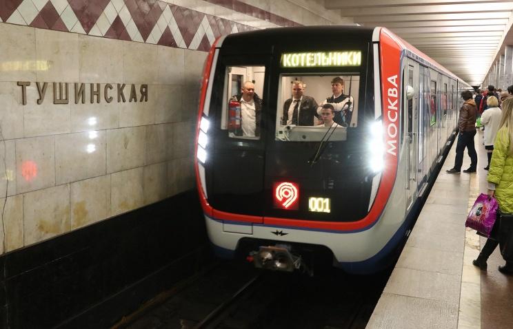 Метро запустит 33 поезда «Москва» наТаганско-Краснопресненской линии
