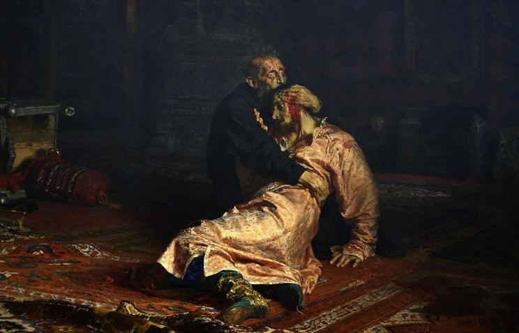 Мужчина поломал картину «Иван Грозный убивает своего сына» вТретьяковской галерее